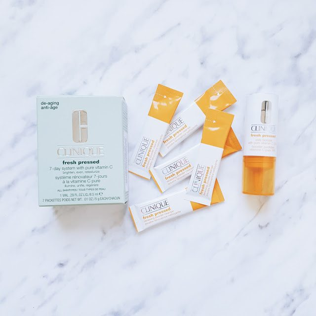 Clinique Fresh Pressed Vitamina C pură 10% + păreri