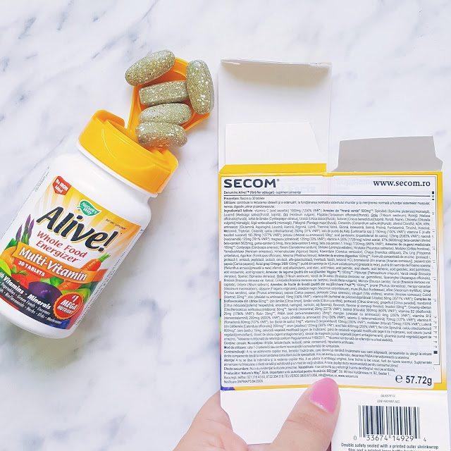 Alive! secom, vitamine, pareri, sfaturi, Debora Tentis